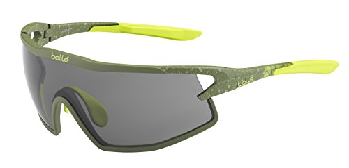 Bolle B-Rock Sunglasses, Matte Khaki/Modulator Clear Gray Oleo AF