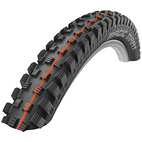 SCHWALBE - Magic Mary Downhill and Enduro Tubeless Folding Bike Tire | 29 x 2.35 | Evolution Line, Super Gravity, Addix Soft | Black