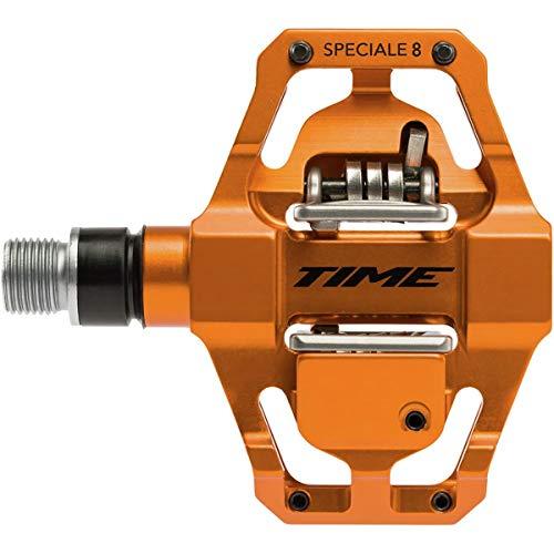 TIME Unisex's Speciale 8 Pedals, Orange, 9/16