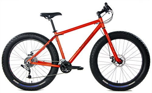 Aluminum Fat Bikes with Powerful Disc Brakes Gravity Monster Mens Fat Tire Bicycle 26' x 4'