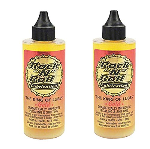 Rock N Roll 135816 Gold Chain Lubricant, 4-Ounce (2-Pack)