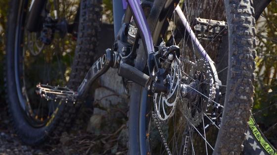 Mountain bike chain